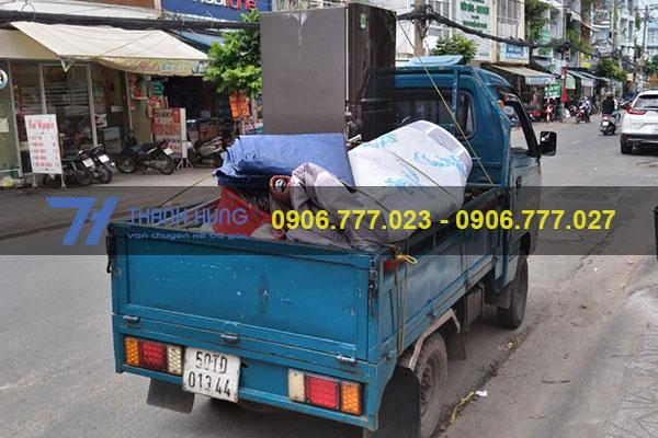 Kích thước thùng xe ba gác